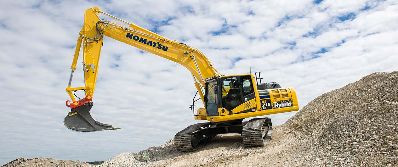 Reduced fuel consumption by 30-40% with new Komatsu Hybrid excavator